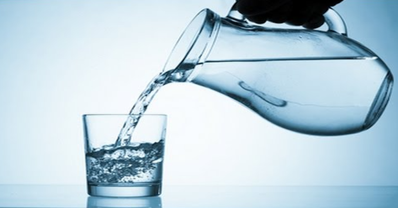 destilovaná voda a zdravie
