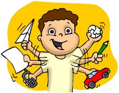 hyperaktivita u deti