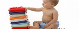 Prečo používať látkové bavlnené detské plienky