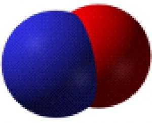 Molekula oxidu dusnatého