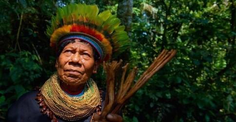 čo vidí šaman