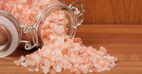 himalajská ružová soľ