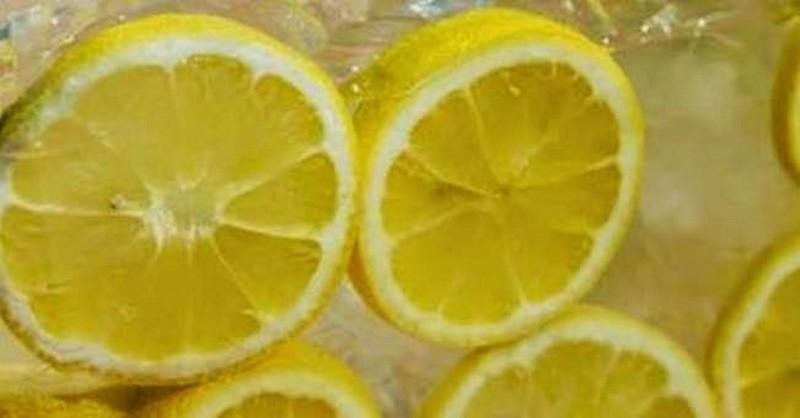 zmrazené citróny