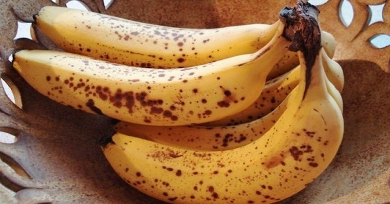 banány s bodkami