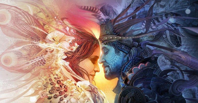 spriaznené duše a životní partneri
