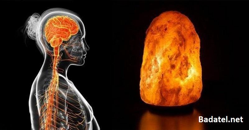 Čo sa stane s vašimi pľúcami, mozgom a náladou, keď si zaobstaráte himalájsku soľnú lampu