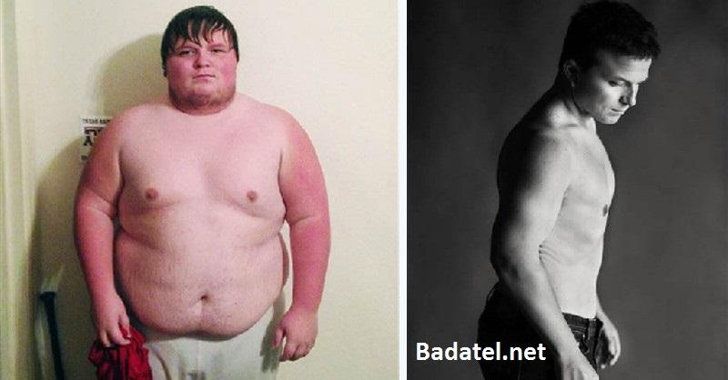 Tento muž zhodil 80 kíl za menej než 1 rok pomocou týchto 3 krokov