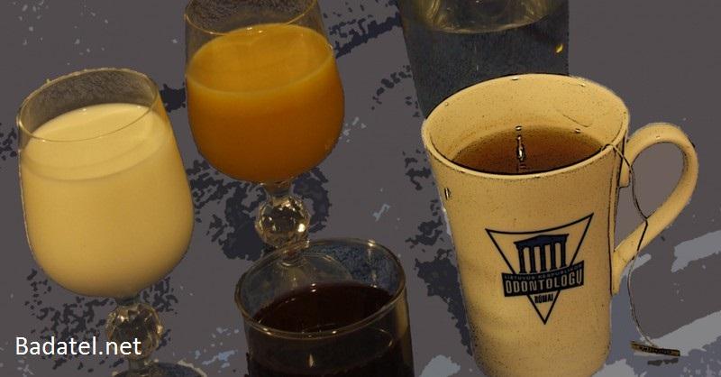 zdraviu škodlivé nápoje a limonády