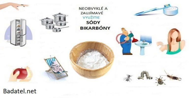 Desať zaujímavých a neobvyklých spôsobov, ako môžeme použiť sódu bikarbónu