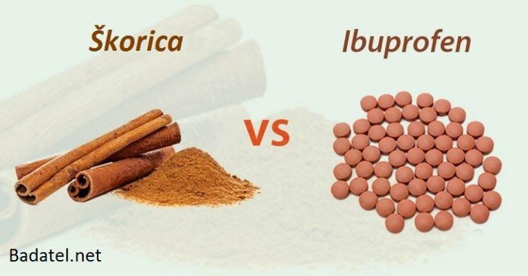 Podľa výskumu môže byť škorica pre uľavenie od bolesti účinnejšia než Ibuprofen
