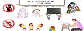 Ako môžeme u našich detí podporiť vývin mozgu