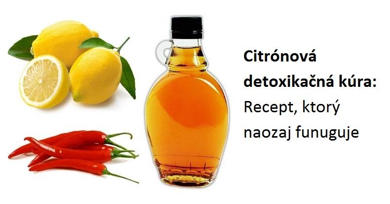 Citrónová detoxikačná kúra: Recept, ktorý naozaj funuguje