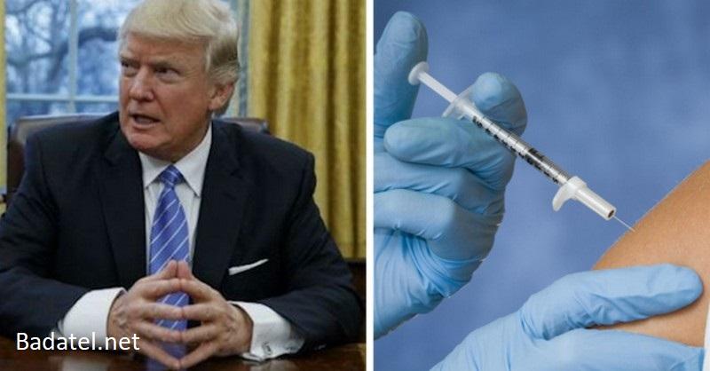 """Trump varuje: očkovanie proti chrípke je najväčší """"podvod"""" v dejinách medicíny"""