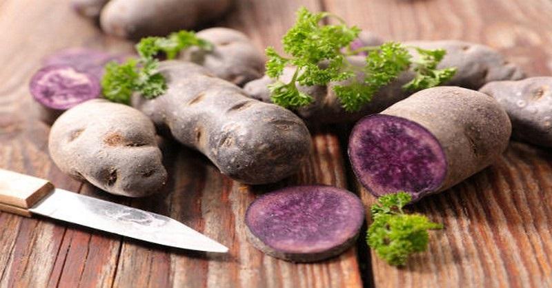Zelená pre fialové zemiaky? Áno! Sú plné antioxidantov!