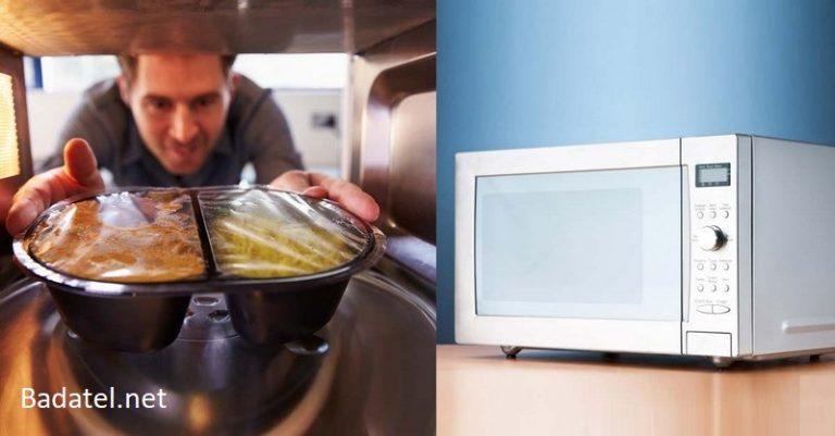 Prečo by ste sa mali vyhýbať používaniu mikrovlnky