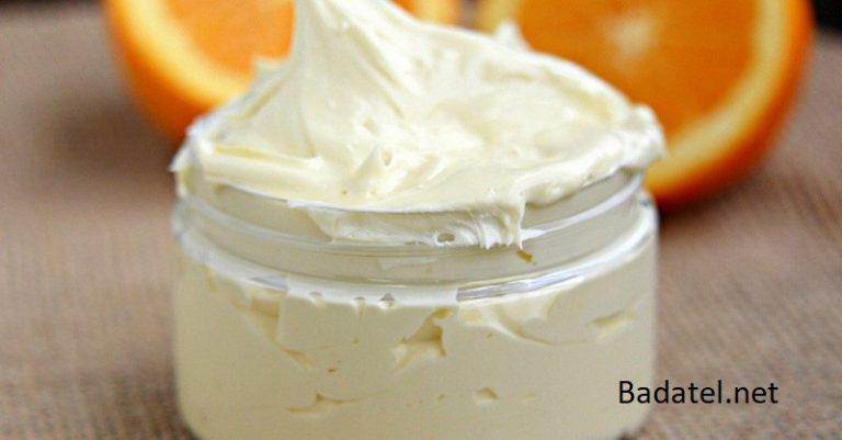 Domáce citrusové telové maslo, ktoré za noc zvláčni a zmäkčí suchú, olupujúcu sa pokožku (recept)