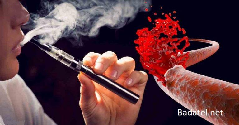 Aromatizované náplne elektronických cigariet poškodzujú krvné cievy