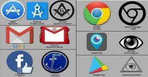 ALTERNATIVE NEWS: V logách niekoľkých silných firiem bol identifikovaný podivný symbolizmus Iluminátov a Slobodomurárov