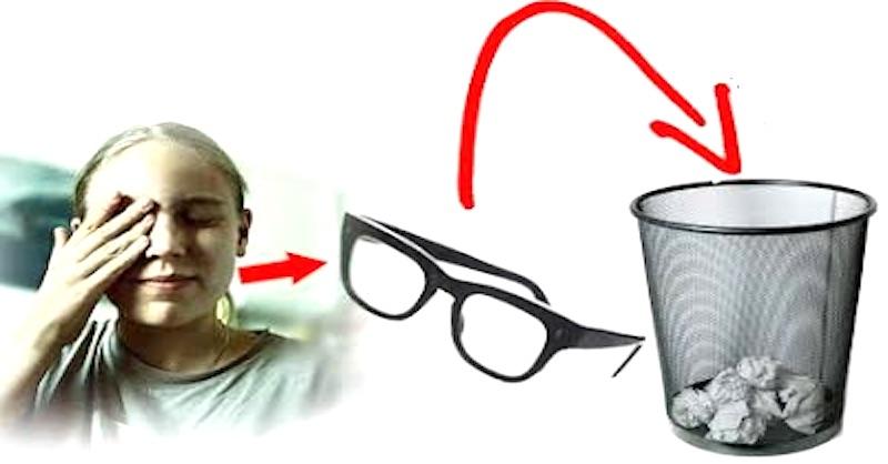 Zahoďte brýle a zlepšete si svůj zrak (bez operace)