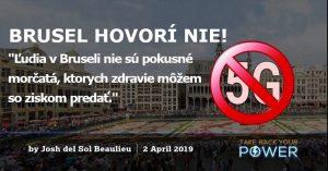 Brusel sa stáva prvým veľkým mestom, ktoré kvôli zdravotným účinkom blokuje technológiu 5G