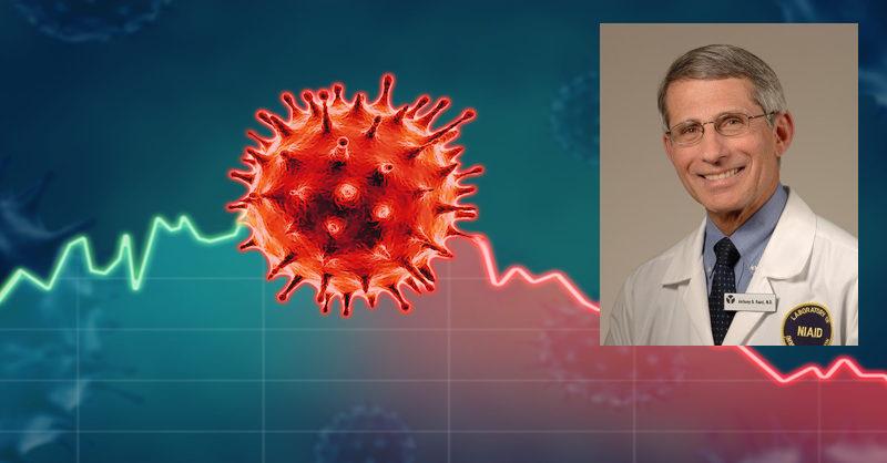 Dr. Fauci naznačuje, že úmrtnosť na Covid-19 môže byť až 10x nižšia, ako sa oficiálne udáva