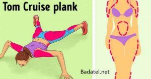 12 druhov planku pre každú svalovú skupinu, ktoré dokážu nahradiť členstvo v posilňovni