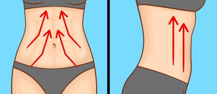 7 masážnych techník pre získanie plochého bruška bez potenia sa v telocvični