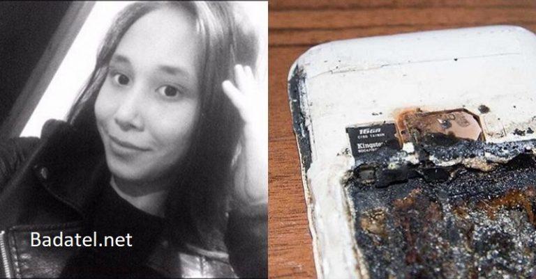 Telefón exploduje a zabíja spiace dievča