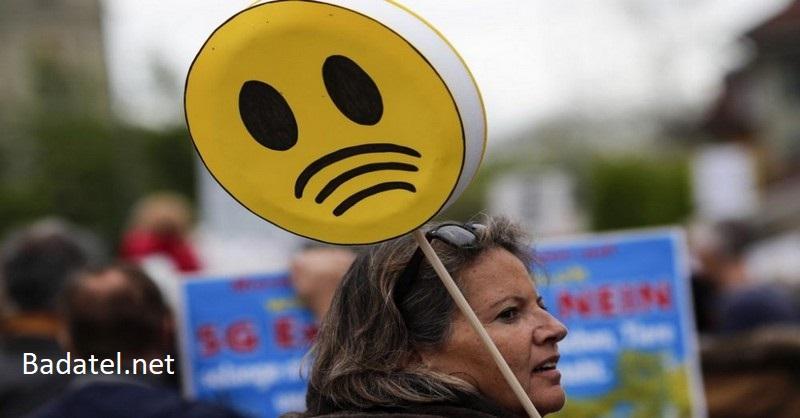 Vo Švajčiarsku protestujú tisíce ľudí, populácia je teraz vystavená 5G žiareniu