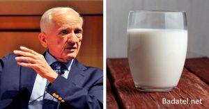 Vedec vysvetľuje, ako vám kravské mlieko odčerpáva vápnik z kostí a robí ich krehkejšími