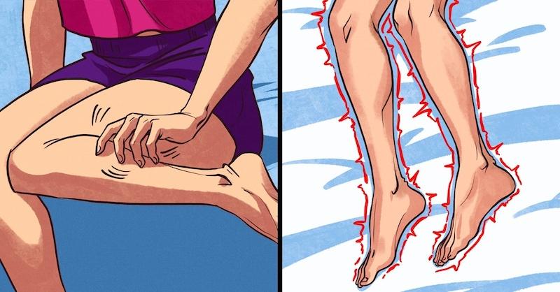 Ako zistiť, či máte syndróm nepokojných nôh akedy navštíviť lekára