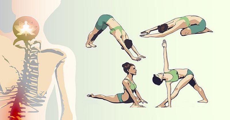 8 jogových pozícií pre úľavu od bolesti chrbta, ktoré zvládnete za 8 minút