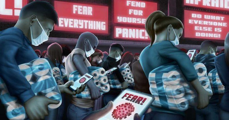 Psychiater odhaľuje, ako sa šírenie strachu z pandémie zneužíva proti ľuďom