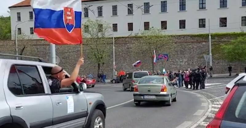 Jazdy slobody: Účinná forma protestov proti kovidovej totalite počas lockdownov