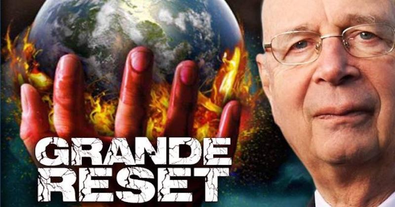 Satan Claus (Klaus Schwab) ajeho WEF predpovedajú (plánujú?) útok na finančný systém
