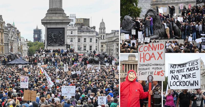 Veľká Británia: Milión ľudí vyšiel do ulíc Londýna bojovať za slobodu